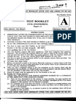 Engg Services Civil Engineering Objective Paper 1 2009(1)