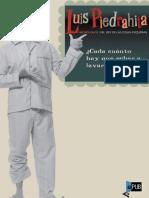 Luis Piedrahita. ¿Cada cuánto hay que echar a lavar un pijama! (v1.0 Nephtys)