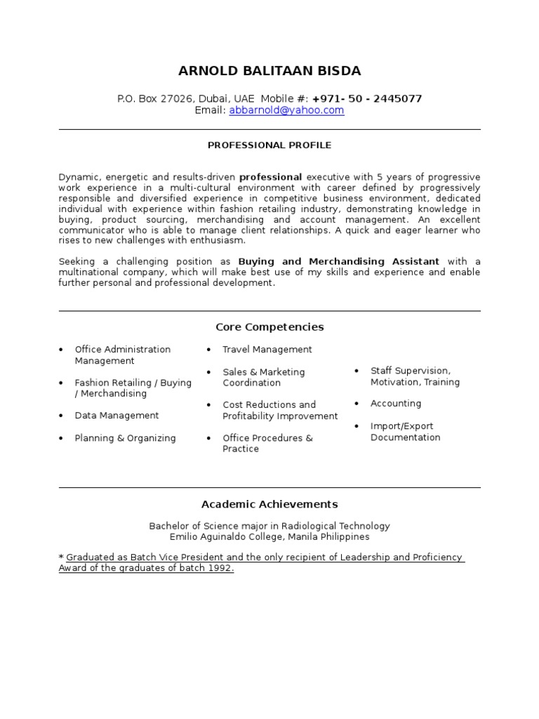 executive personal assistant resumes