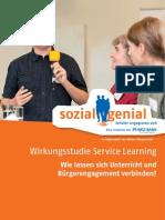 Wirkungsstudie Service Learning