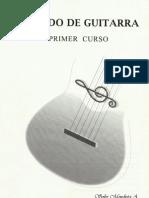 Método de guitarra I  Soler Mendieta.