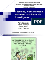 Seminario Construcción Instrumentos de Investigación