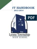 Parent Handbook Lyons Township High School
