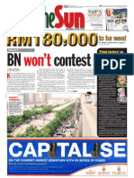 thesun 2009-05-19 page01 bn wont contest
