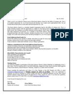 Event Advisory Board Application Fall 2013