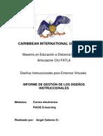 Informe de Gestion Angel Cabrera