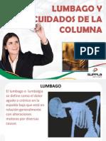 Semana 6 Lumbalgo y Cuidados de La Columna