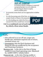Chapter 5 - Cost of Capital