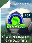 REGLAMENTO LINAFA 2012-13