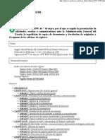 4. RD 772-1999. Solicitudes Escritos y Comunicaciones Ante Estado