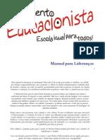 Manual para Lideranças - Movimento Educacionista