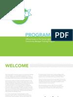 The Social Lights Community Manager Training Program | Summer 2013