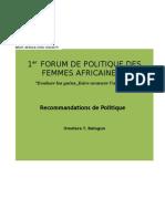 Recommandation de politique.doc