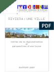 Rapport CCR Riviera