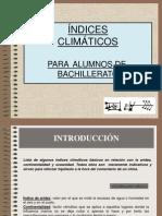 Indices Climaticos