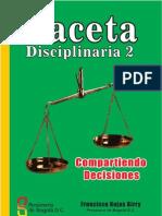 Gaceta Disciplinaria 2
