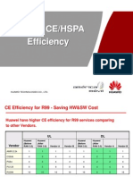 Huawei CE&HSPA Efficiency