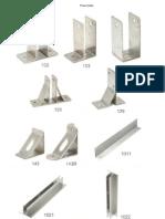 Toilet Cubikal Wall Braket Product Details