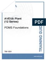 Tm-1001 Aveva Plant (12 Series) Pdms Foundations Rev 2.0