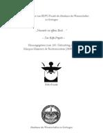 EFFLAND & GRAEFF, Neues Zur Lage Von Behedet (2009)