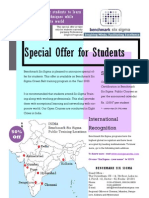 Special Offer for Students By Benchmark Six Sigma