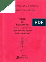 Teste M.a.I(Cartea Rosie)