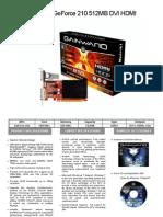 nVIDIA Specs Sheet