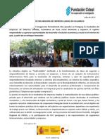INAUGURACIÓN DE INCUBADORA DE EMPRESAS LANSOL