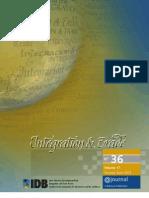 Integration & Trade Journal #36