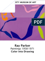 Ray Parker, Color into Drawing