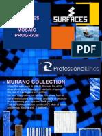 Professional Lines Glass Tile Presentation