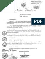 Directiva de Operaciones Conjuntas de Seguridad Ciudadana Peru