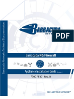 Barracuda f300 f301 Revb Applianceinstallguide Rev1