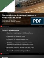 v1_MA4006 - Gallego - Simulando com o Autodesk Inventor e Autodesk Simulation.ppt