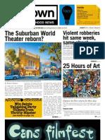 August 2013 Uptown Neighborhood News