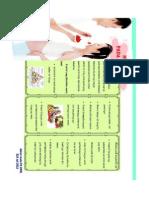 pamflet nutrisi ibu hamil