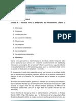 Unidad 4-Estrategias Pedagogicas Para El Desarrollo Del Pensamiento