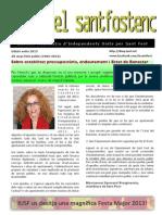 """""""El Santfostenc"""", edició estiu 2013"""