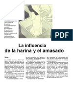 LA INFLUENCIA DE LA HARINA Y EL AMASADO.doc