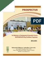 BBAU Prospectus 2013-2014
