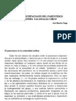 05. Estructuras espaciales del parentesco... José Sánchez Parga