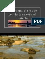 Africa-Okavango-El Rio Que Convierte en Oasis Al Desierto