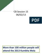 CB Session 15