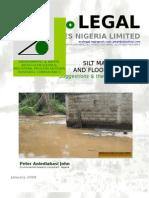 Silt Management; Flood Control; Peter Aniediabasi John; Ecolegal Nigeria