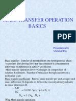 Mass Transfer Basics