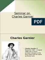 Architect Charles Garnier
