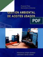 Gestion Ambiental de Aceites Usados