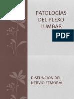 PATOLOGÍAS DEL PLEXO LUMBAR