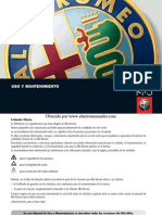 Manual Alfa Romeo 156