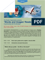 Words and Images Programme 09